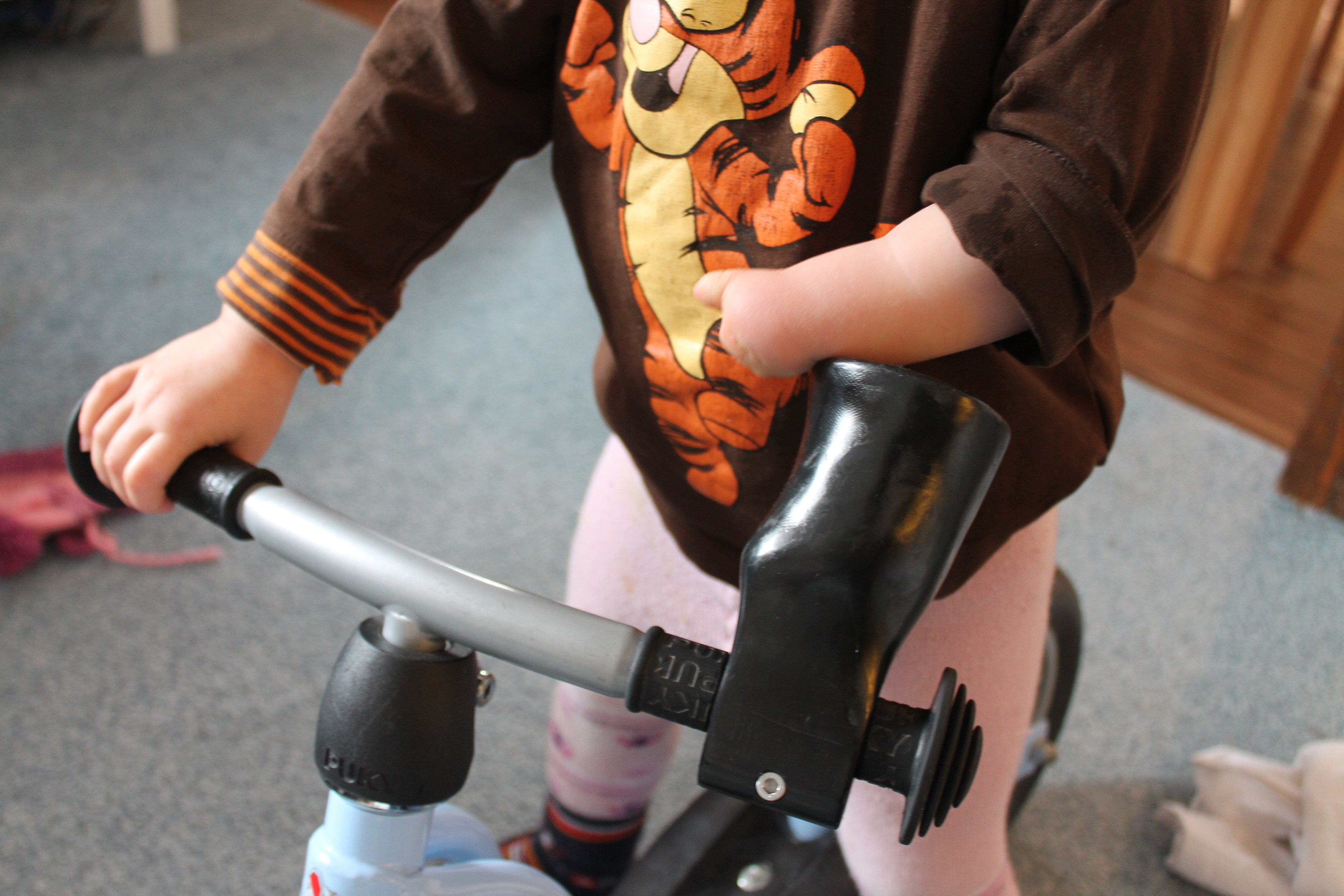 Lenkhilfe fürs Laufrad: Aus medizinischer Sicht nicht erforderlich?